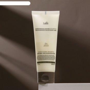 Lador шампунь для волос molsture balanclng shampoo 100 мл.