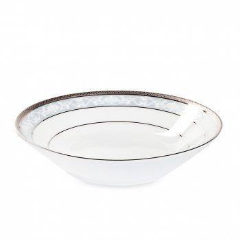 Чаша для десерта, диаметр: 14 см, материал: фарфор, цвет: белый, серия хэм