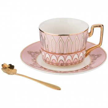 Чайный набор на 1 персону, 3 предмета 250мл. (кор=36набор.)
