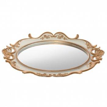 Поднос с зеркалом, l38 w3 h30 см