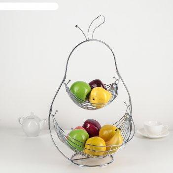 Ваза для фруктов 34x27x52 см груша