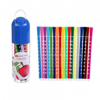 Фломастеры «я - художник!», 18 цветов, в пластиковом пенале
