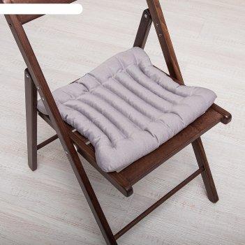 Эко-подушка на стул 40*40 лузга гречихи, грета