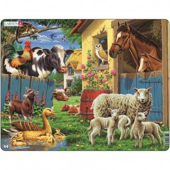 Пазл животные фермы, 23 детали (fh23)