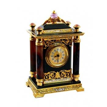Часы каминные класика долерит