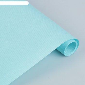 Крафт-бумага, 500 х 2000 мм, sadipal, 65 г/м2, бирюзовый