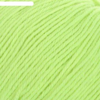 Пряжа детский каприз 50% мериносовая шерсть, 50% фибра 225м/50гр 483-незре