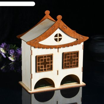 Чайный домик  домик китайский двойной 100х160х195