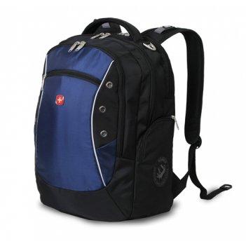 1191315 рюкзак wenger «zoom» цв. сине-серый