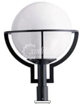 Светильник венчающий «шар вариант»