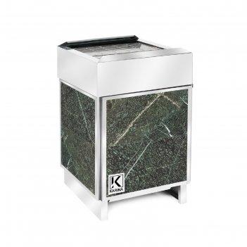 Электрическая печь karina elite 12, нержавеющая сталь, камень серпентинит