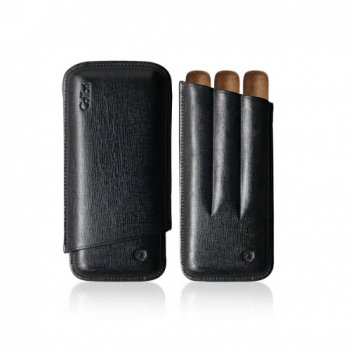 Чехол для сигар colibri 3 finger corona c-10020cc