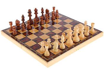 Подарочный набор игр шахматы нарды, шашки с доской классика (sa-sh-014)