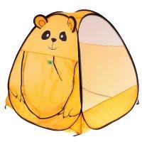 Игровая палатка медвежонок, цвет оранжевый
