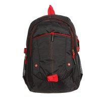 Рюкзак туристический, 3 отдела, 1 наружный и 2 боковых кармана, усиленная