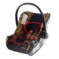 Детское автомобильное кресло siger art эгида  люкс гр. 0+ (хохлома)