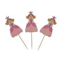 Пика для канапе принцесса (набор 12 шт)