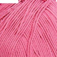 Пряжа детский хлопок 100%мерсеризованный хлопок 330м/100гр (11-яр.розовый)