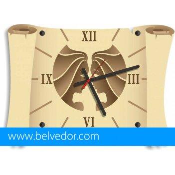 Часы настенные близнецы 39х28 см