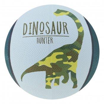 Мяч баскетбольный dinozaur, размер 3, 280 г