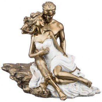 Статуэтка влюбленные серия фьюжн 20*14*18,5 см (кор=8шт.)