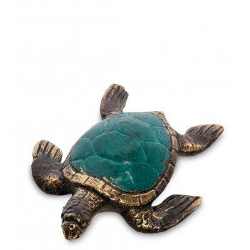 24-175-01 фигурка морская черепаха бронза (о.бали)