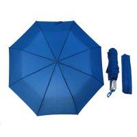 Зонт автоматический, r=50см, цвет синий