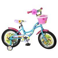 Велосипед 12 navigator disney феи, 2018, цвет бирюзовый/розовый