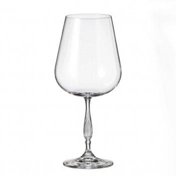 Набор бокалов для вина crystalite bohemia scopus/evita 670 мл(6 шт)
