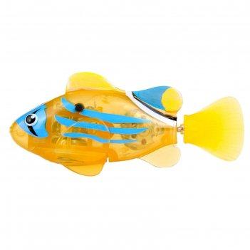 Светодиодная роборыбка желтый фонарь
