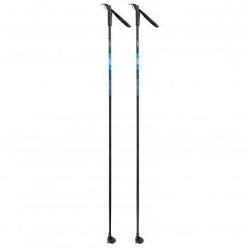 Палки лыжные стеклопластиковые, 110 см, цвет микс
