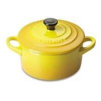 Кокот , объем: 0,2 л, диаметр: 10 см, материал: керамика, цвет: желтый, le
