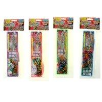 Набор для плетения браслетов из резиночек loom twister, микс (200 шт.)