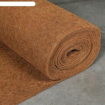 Кокосовое полотно для мульчирования, 1 x 10 м, «мульчаграм»