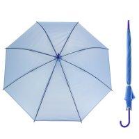 Зонт полуавтоматический «однотонный», 8 спиц, r = 46 см, цвет сиреневый