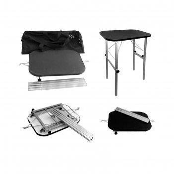 Стол для груминга складной в чехле до 50 кг, 35,5 х 50,5 х 77,5 см, покрыт