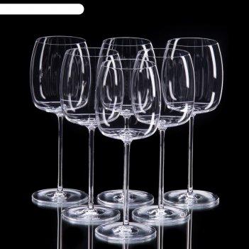 Набор бокалов для белого вина, 6 шт, 350 мл