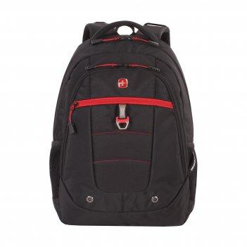 Рюкзак swissgear, 15, черный/красный, полиэстер, 900d,  34х18x47 см, 29 л