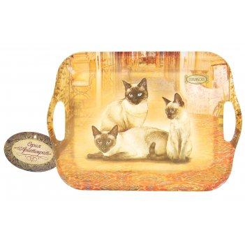 Поднос серия сиамская кошка