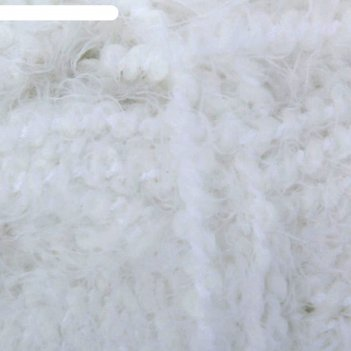 Пряжа лотос травка стрейч, отбелка 002, 80 м