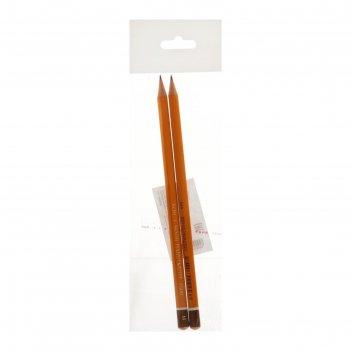 Набор карандашей чернографитных разной твердости k-i-n 1500/3 n 3 штуки hb