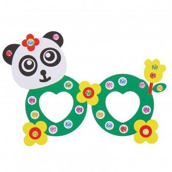 Набор для творчества создай очки - панда