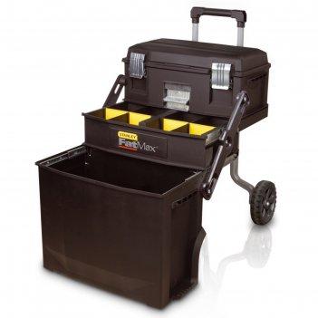 Ящик для инструментов stanley 1-94-210, на колесах, с органайзерами, пласт