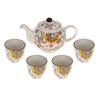 Набор для чайной церемонии 5 предметов семицветик