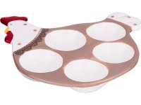 Подставка для 5-ти яиц серия кружевная пасха 17,...