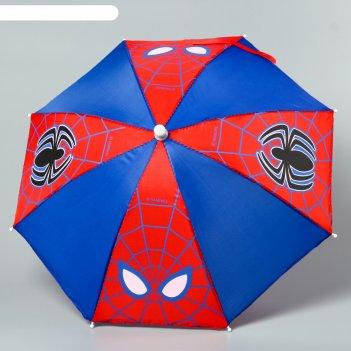 Зонт детский человек-паук, 8 спиц, d=51 см