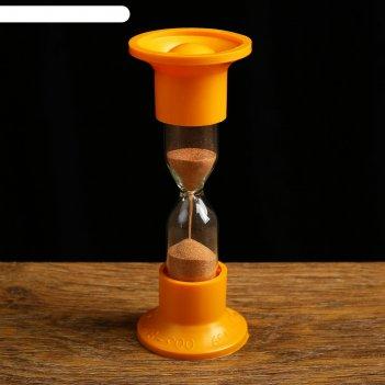 Часы песочные настольные на 2 минуты, упаковка пакет