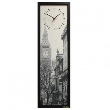 Настенные часы из песка династия 03-005 туманный лондон
