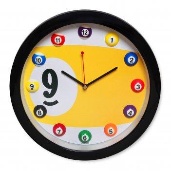 Часы бильярд sn5027 ?29,5см
