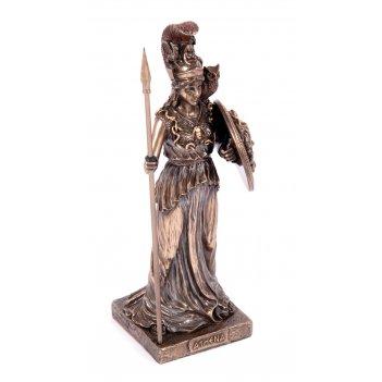Статуэтка афина, богиня войны и мудрости 8*7*21см